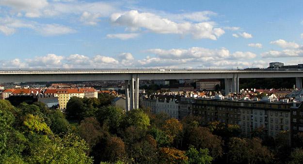 Nuselský most (2014) | Fotografía: Wayward wandering