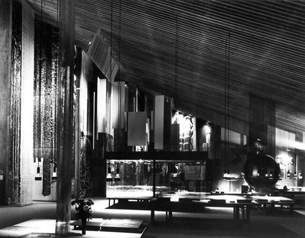 Pabellón finlandés de la Expo de Bruselas de 1958 , Reima Pietilä | Fuente: Fundación ICO