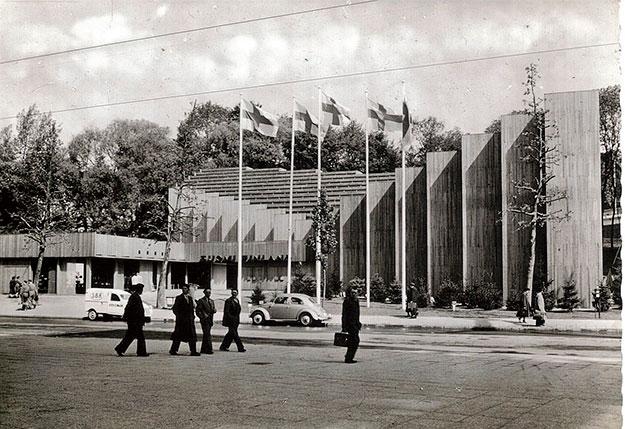 Pabellón de Finlandia para la Exposición Internacional de Bruselas de 1958 (1956-58)