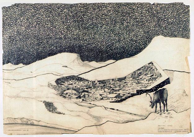 Ralph Erskine - An Ecological Arctic Town, 1958