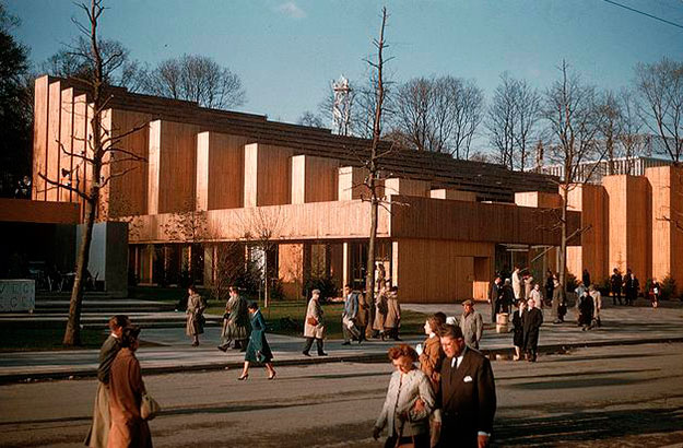 Pabellón finlandés de la Expo de Bruselas de 1958