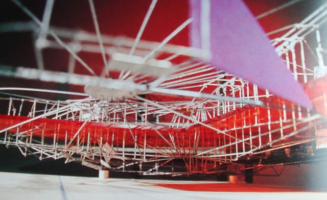 Maqueta de Constant, Grote gele sector, 1967