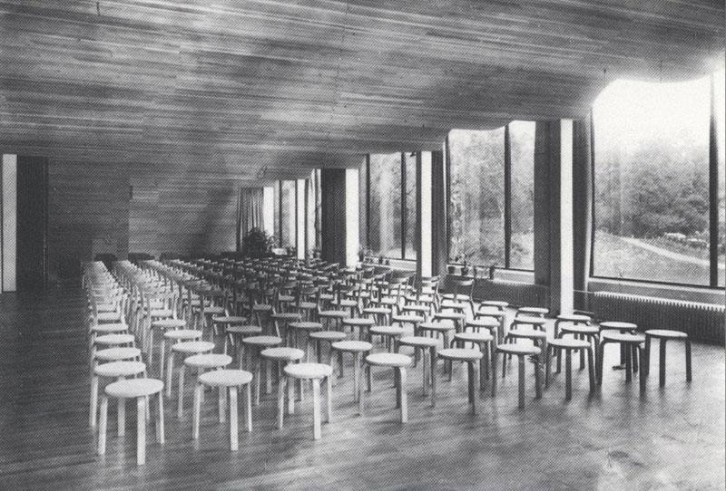 Biblioteca Municipal de Viipuri (1927-1934) de Alvar Aalto