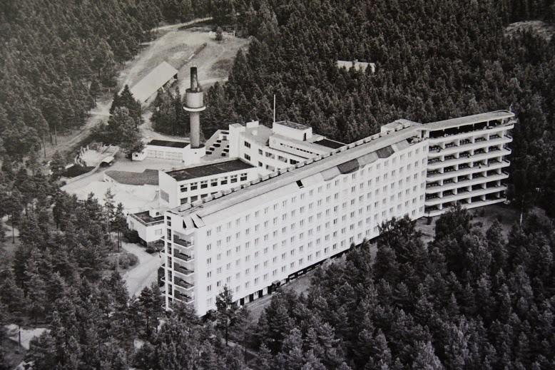 Sanatorio Paimio (1928-1933) de Alvar Aalto.