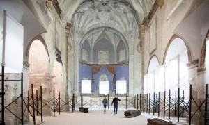 Ephemeral intervention in San Jerónimo de Baza | Antonio L. Espinar - Beatriz Mellado - Antonio L. Espinar