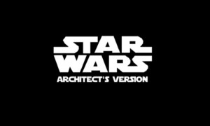 Star Wars The Architect's version. The Architectural Competition | Lexcursó