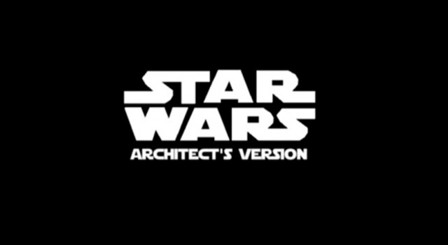 Star Wars The Architect's version. The Architectural Competition   Lexcursó