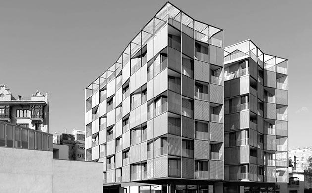 Edificio Vertix de Carlos Ferrater