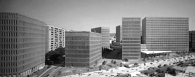 Ciudad de la Justicia, David Chipperfield Fotografía: Christian Richters