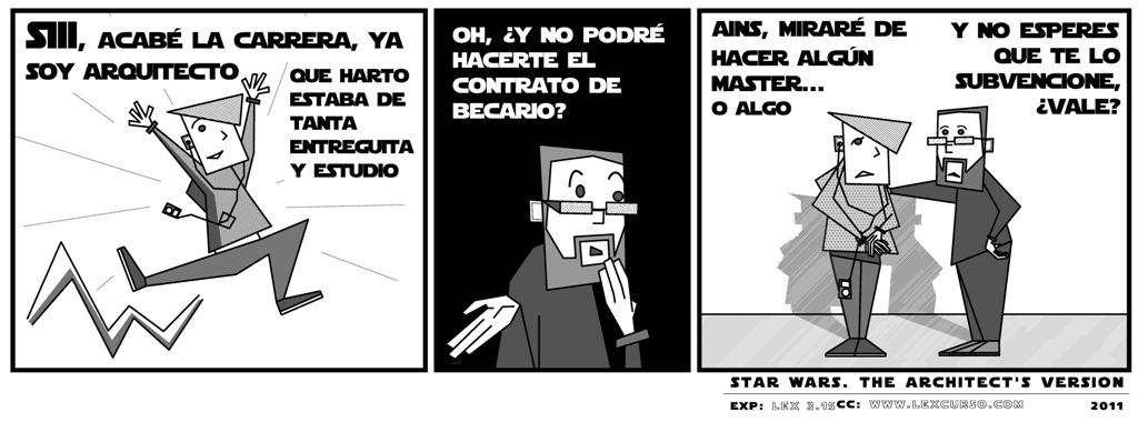 SW Architect's version: Contrato becario