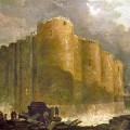 La demolición de La Bastilla por Hubert Robert