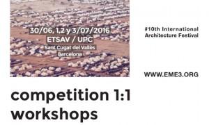 Festival eme3 Arquitectura de Emerxencia