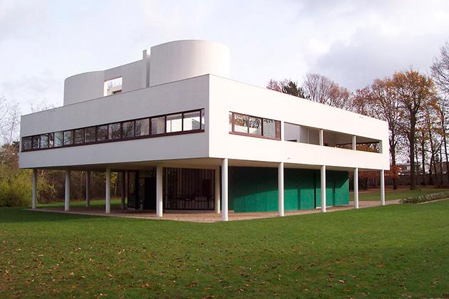 Le Corbusier y Pierre Jeanneret. Villa Savoye en Poissy – Francia, 1929 – 1931.   (Fotografías: Arq. José Miguel Forga).