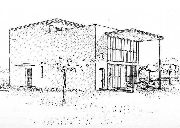 Maison Citrohän 1920-23 | Dibujos: ©FLC
