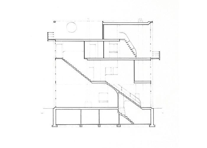 Sección Maison Citrohän, 1922 | Dibujos: ©FLC