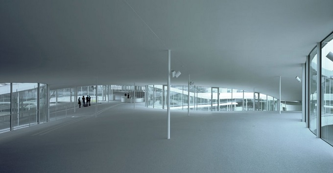 Centro Rolex ©Rolex Learning Center