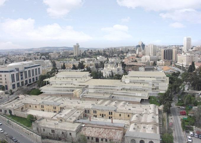 Campus de la Academia Bezalel ©SANAA