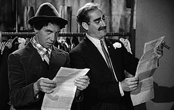 Definiciones - Groucho y Chico, Una noche en la ópera, 1935.