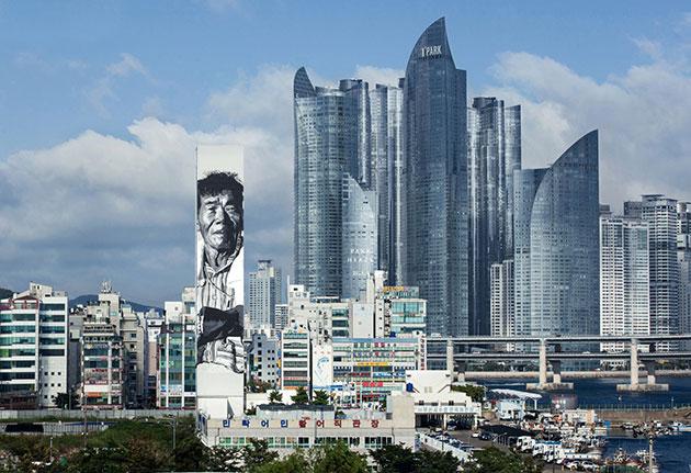 Murals, 2012, Busan Hendrik Beikirch, alias ECB