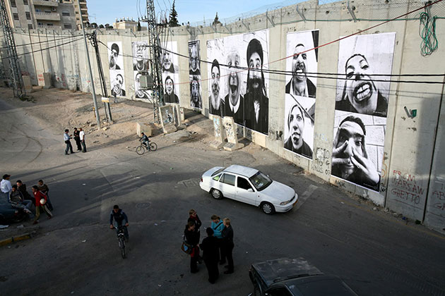 Face to Face, Palestina, 2007 | JR