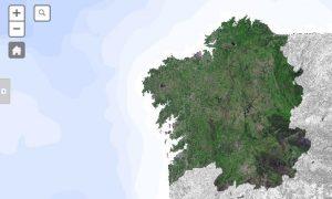 Platform of maps of the Autonomous government of Galicia