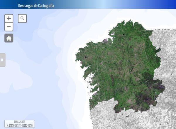 mapa xunta aplicación