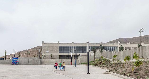 Parque Zonal Santa Rosa. Plaza de Ingreso desde la Av. Santa Rosa | Foto: Eleazar Cuadros