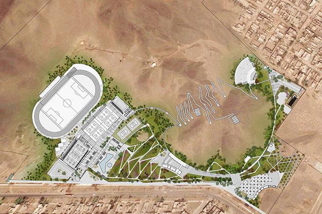 Parque Zonal Santa Rosa - Planta General