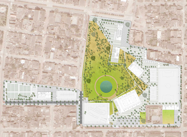 Parque Zonal Flor de Amancaes - Planta General