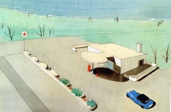 Perspectiva, Arne Jacobsen 1936