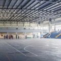 Polideportivo Techado, con capacidad para albergar múltiples disciplinas gracias a las dimensiones de la cancha multiuso