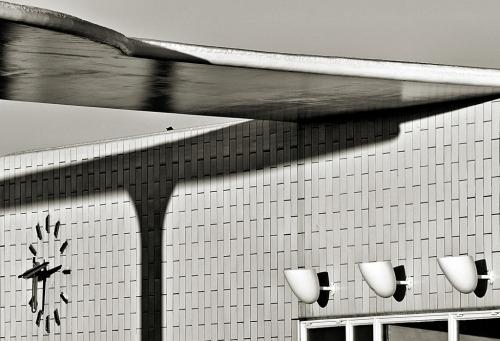 Arne Jacobsen. Texaco Gas Station. Skovshoved 1936 Photographer Lotte Grønkjær