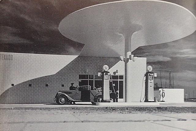 estación de servicio de Skovshoved Arne Jacobsen