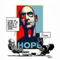 La caricatura de Rem Koolhaas en On Starchitecture (Abril de 2009) 01