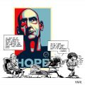 La caricatura de Rem Koolhaas en On Starchitecture (Abril de 2009) 04
