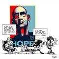 La caricatura de Rem Koolhaas en On Starchitecture (Abril de 2009) 04