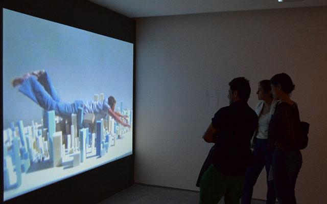 'La elipsis arquitectónica' en el Centro Cultural Universitario Tlatelolco.