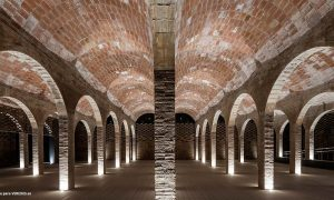 Depósito do Rei Martí en Barcelona | archikubik - Enllaç arquitectònic Arc-Roig