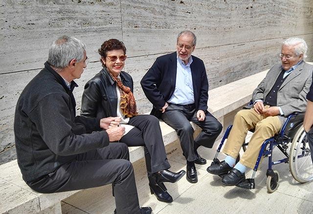 Cristian Cirici, Isabel Bachs, Fernando Ramos y Oriol Bohigas | Fotografía: Isabel Bachs