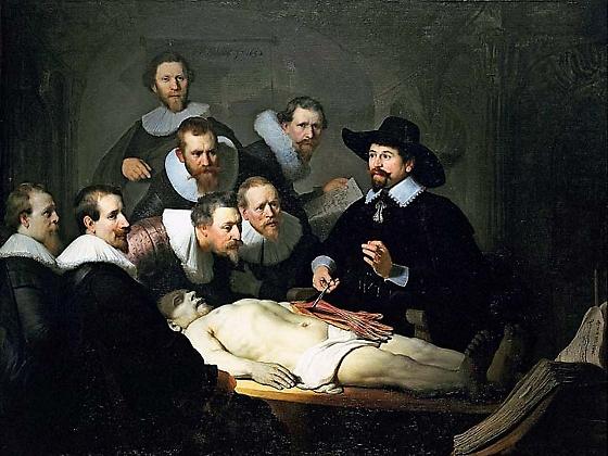 Lección de Anatomía del Dr Nicolaes Tulp