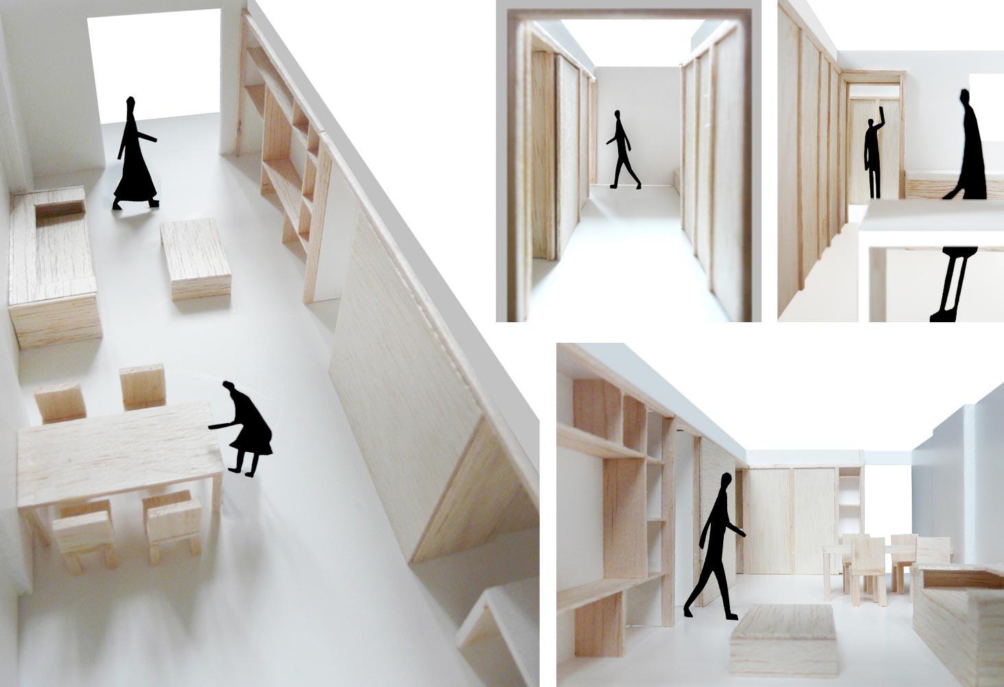 Reforma interior de una vivienda en el poblenou for Vivienda interior