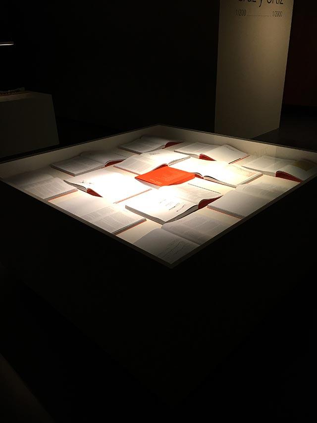 """Exposición del catálogo titulado """"Cruz y Ortiz 12 edificios-12 textos"""""""