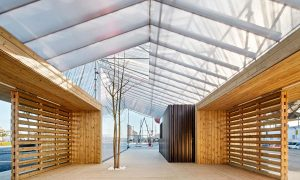 Information Point in Glorias Square | peris+toral.arquitectes