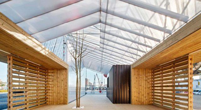 Information Point in Glorias Square | peris+toral.arquitectes