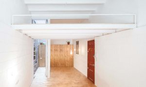 Caballero House. House between a court of lights | agora arquitectura