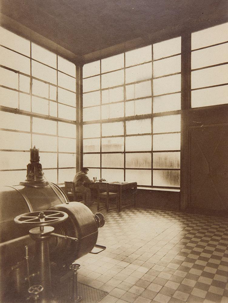 Edmund Lill, central eléctrica de la fábrica Fagus, 1923 (Harvard Art Museums)