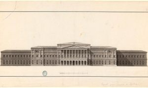 Architecture and Ornamentation drawings from the National Library of the XIX century