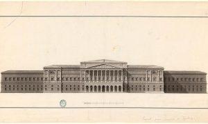 Dibujos de Arquitectura y Ornamentación de la BNE. Siglo XIX