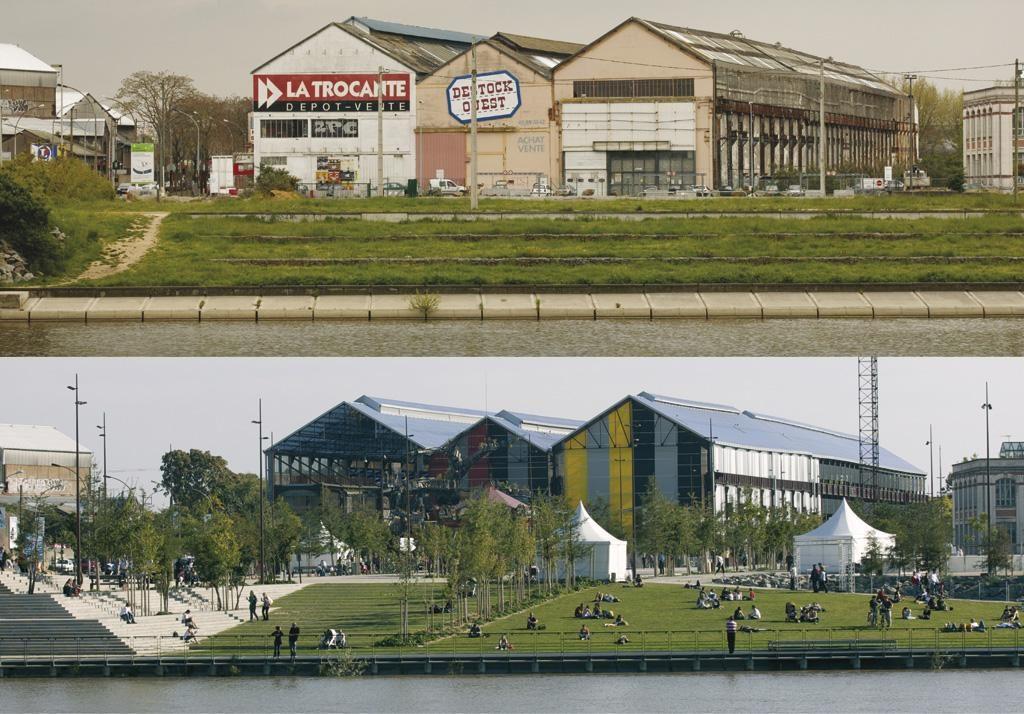 Revitalización y rehabilitación de los espacios públicos de la Isla de Nantes (Nantes, Francia)   Alexandre Chemetoff et associés