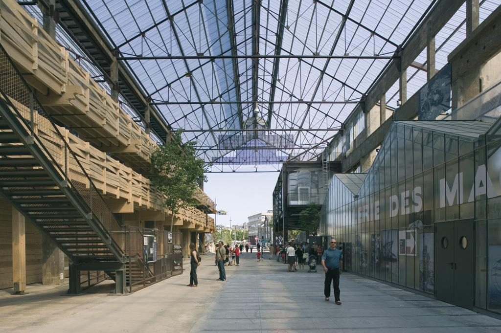 Revitalización y rehabilitación de los espacios públicos de la Isla de Nantes (Nantes (Francia)   Alexandre Chemetoff et associés